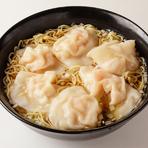 ぷりぷり海老ワンタン麺