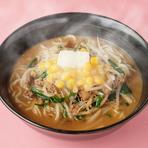 ワタリガニの白湯煮込み麺