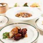志苑の人気メニューを集めた全7品。 お手頃なお値段で志苑の料理を楽しめるライトコースです。