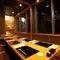 落ち着いた個室は、仕事の接待や両家の顔合わせなどに最適です