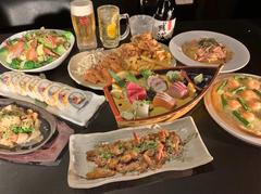 お食事6品と3時間の飲み放題もついて3500円のお得なコースです!