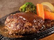 黒毛和牛を贅沢に使ったハンバーグです♪ 140g 1080円 200g 1300円