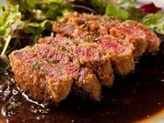 希少部位のヒレ肉をレアかつに♪ ランチ一番の人気メニューです!!