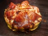 フワッとした新食感『トマトチーズお好み焼き』