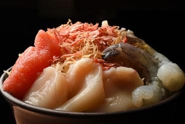 海鮮の旨味が豊富『シーフードもんじゃ』