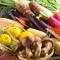 新鮮な野菜は旬の産地の季節のものを使用