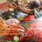 新鮮な魚介類は産地にこだわり、天然ものを使用