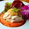 特製ソースにこだわった『干し豆腐と蒸し鶏のバンバンジー』