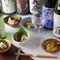料理人が料理に合わせ厳選した日本酒の数々