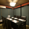 完全個室は接待やデートに最適な落ち着いた雰囲気