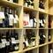 ワインセラー完備。料理に合わせお酒を選ぶは大人のたしなみ