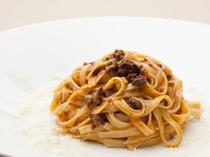 自家製パスタが美味! 『タリオリーニ アッラ ボロニェーゼ』