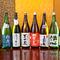 魚料理に欠かせないお酒。各地の日本酒が勢ぞろい