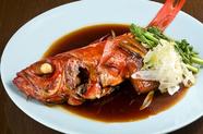 脂ののった美味しさ『金目鯛姿煮』