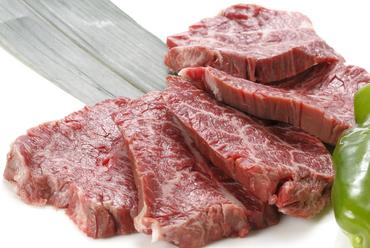 自家製タレとの相性抜群、肉本来の旨味を堪能『和牛上ハラミ』