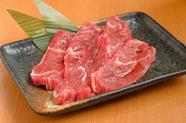 牛肉メインの『焼肉』は自家製の甘辛ダレが決め手!