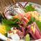 季節の鮮魚をお酒のお供に『生鮮刺身盛り合わせ』
