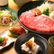 ロース肉の炙りステーキも絶品。「三田牛」の旨さよりどりみどり