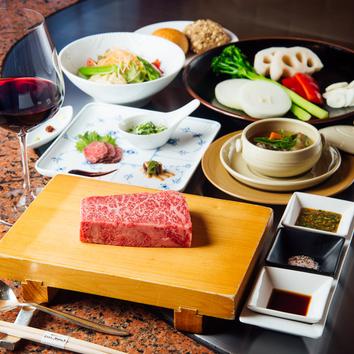 ●特選神戸ビーフステーキコース