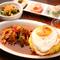 アジア各国の定番料理を4種の前菜と味わう『アジアンランチセット』
