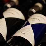 グルマンコース+ペアリングコース(シャンパン・ワイン・日本酒・ウィスキーから4杯チョイス)