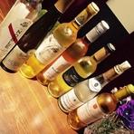 スティルワインの種類もだが、デザートワインもご用意!!