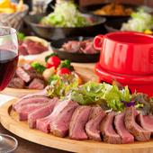パーティや宴会にぴったりのコース料理で盛り上がって!