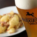 ハウスビール『RIEGELE(プリヴァート・ドゥンケル)樽生』