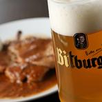 本格的なドイツ料理とドイツビールに癒されて…