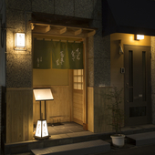 天ぷら蕎麦発祥の地に佇む、隠れ家的な雰囲気