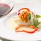 新鮮な有機野菜と松阪牛極上ロース、築地直送鮮魚を使ったスペシャルコースメニュー。