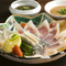 日本各地の漁港から旬の魚介を仕入れ、その持ち味を存分に生かす