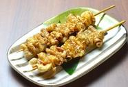 鶏ばかりでなく海の幸も美味しい!『刺身五種盛り』