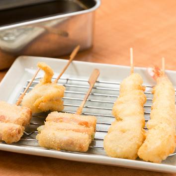 ◆串10本+一品料理6品 2000円+税コース
