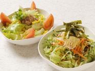 フレッシュ野菜の『舞しゃぶサラダ』