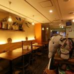 カジュアルでおしゃれなインディアンカフェ、現地の雰囲気を堪能