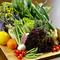地元天草の旬の新鮮野菜をたっぷりと堪能