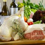 地鶏の「天草大王」や地元の「天草ハイヤポーク」「猪肉」を堪能