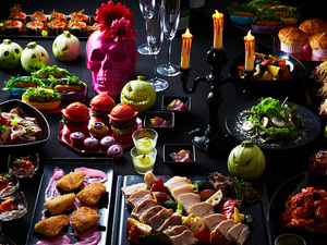 楽しい雰囲気を演出する、イベントに合わせた楽しい盛り付けが魅力『ディナーブッフェ』