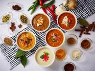 テーマを変えて季節ごとにさまざまな種類の料理が並ぶ『ランチブッフェ』