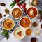 テーマを変えて季節ごとにさまざまな種類の料理が並ぶ『ランチバイキング』