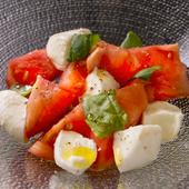 モッツァレラとトマトのサラダ
