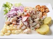 日本の刺身感覚で味わうペルー料理、『セビーチェ』