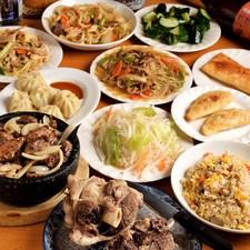 3時間 約30種のモンゴル料理食べ放題+飲み放題
