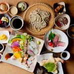 地産地消を心がけ、「三田の食材」を存分に堪能できる