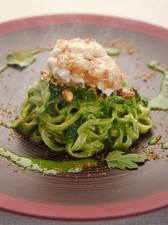 旬の野菜や魚介類を楽しめる『Stagione』