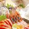 北海道の新鮮な魚介類や野菜を使用した料理が楽しめるお店