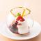 ディナー限定『鱧と松茸のパピヨット 伊藤久右衛門のほうじ茶をアンフュゼしたコンソメとともに』