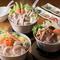 ランチ限定。目の前で揚げる『海老と野菜の天ぷら』