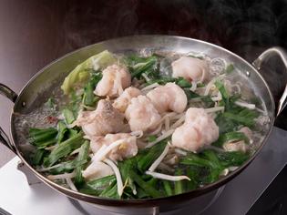 さっぱりとした風味が特徴的『和牛のもつ鍋』